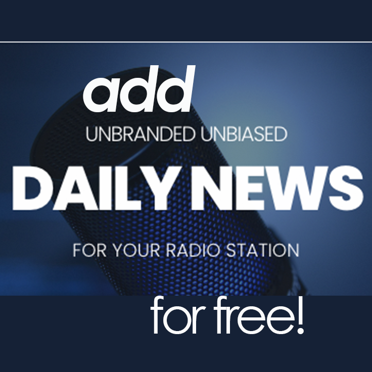 Add our newscast to your radio station